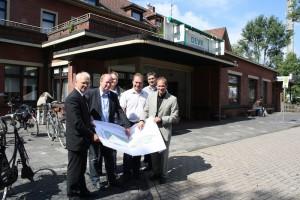 Vor dem Umbau am Nordhorn Bahnhof