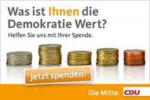 Spende an die Grafschafter CDU